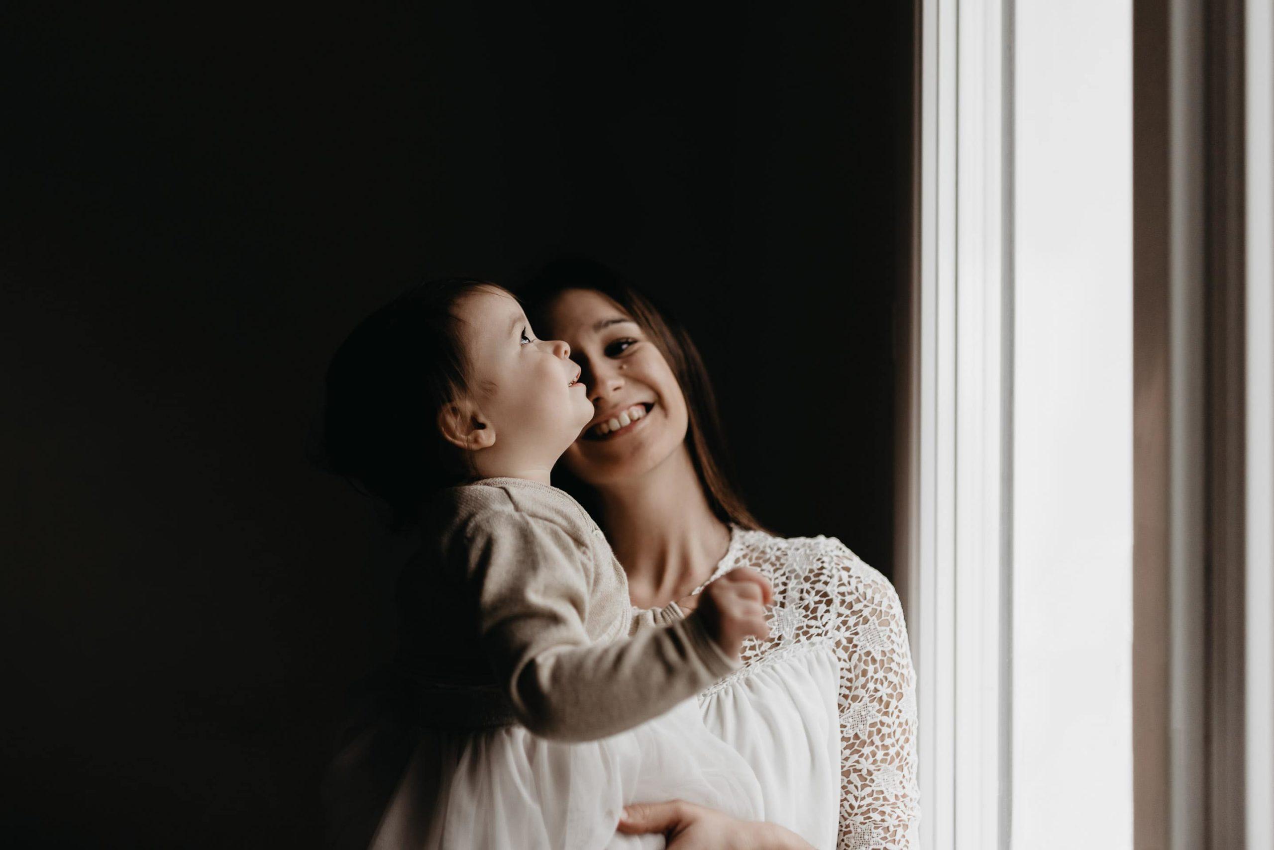 portrait mere et sa fille seance famille émotion morbihan